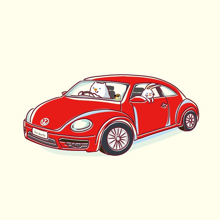 beetle イラスト