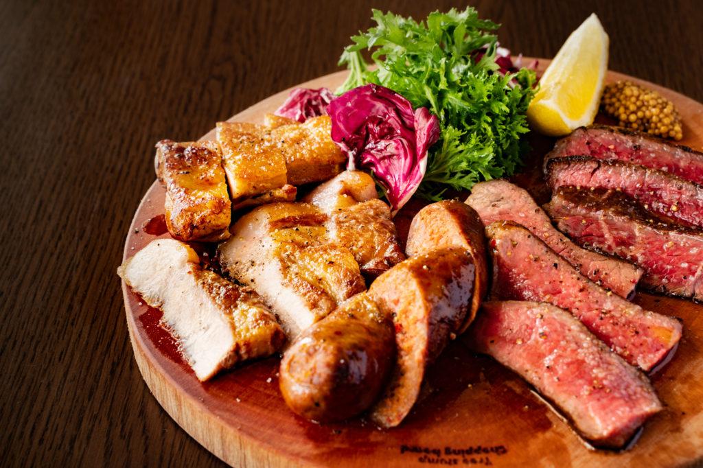 肉の3種もり